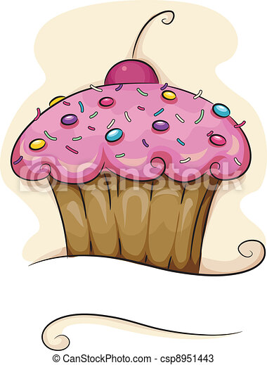 Cupcake - csp8951443