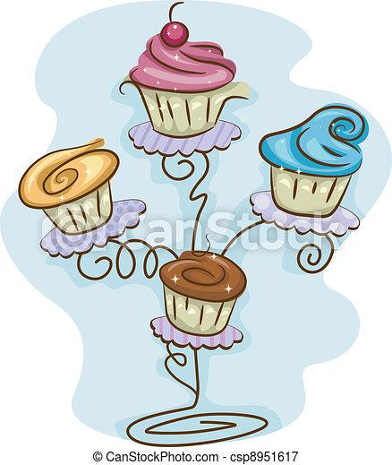 Cupcake Stand - csp8951617