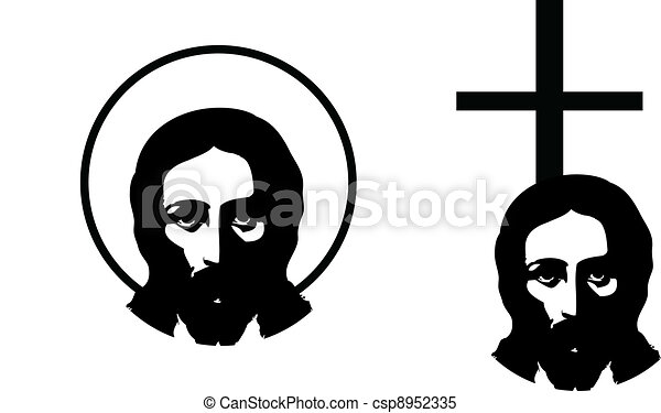 the vector jesus - csp8952335