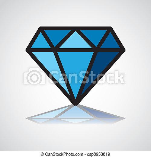 diamond symbol - csp8953819