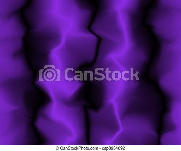 Straight Soft Purple Neon Velvet Folds - csp8954092