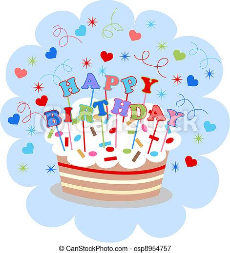 happy birthday - csp8954757