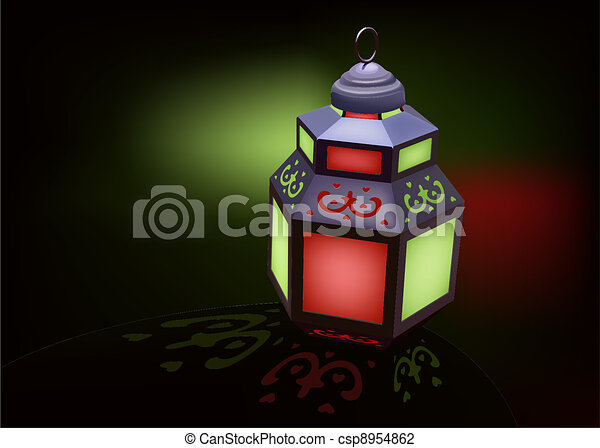Lantern Ideal for Ramadan  - csp8954862