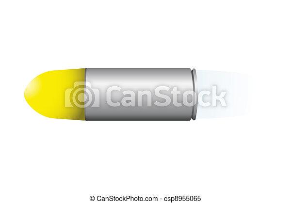 Speeding bullet - csp8955065