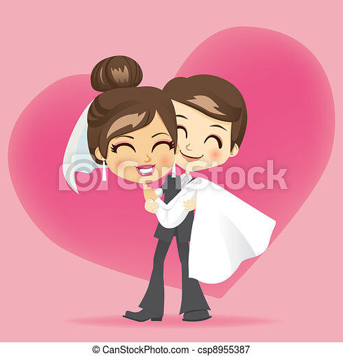 Honeymoon Love - csp8955387