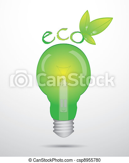 special light bulb with high detail - csp8955780