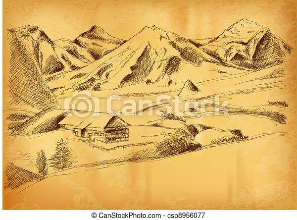 Montaña, imagen - csp8956077