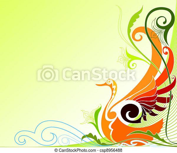 Bird of Paradise - csp8956488