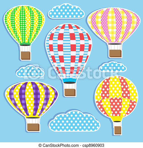 hot air balloons - csp8960903