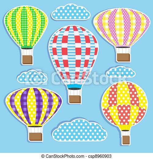 hot air balloons - csp8960903