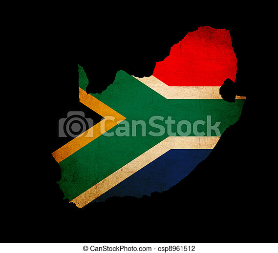 South Africa Map Outline Map Outline of South Africa
