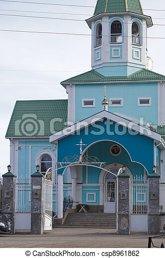 Orthodox churches in Russia - csp8961862