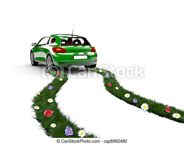 Ecology car - csp8962480