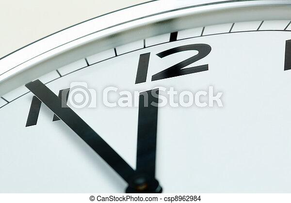 Five minutes to twelve - csp8962984