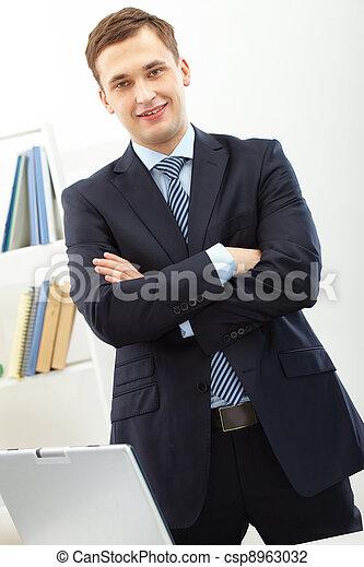 Successful employer - csp8963032