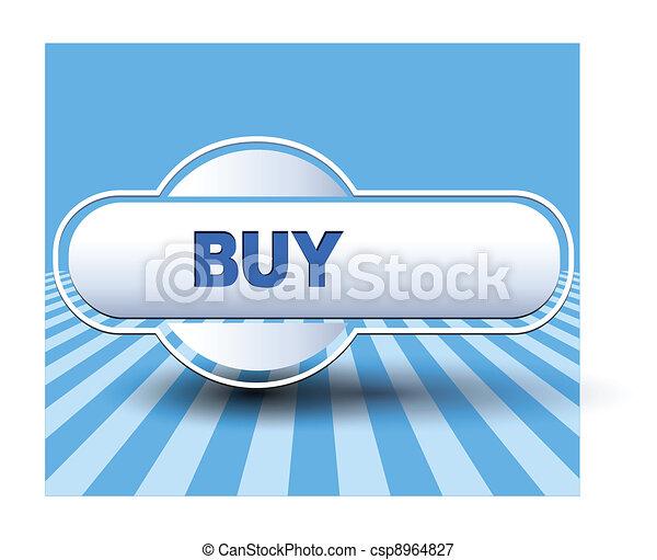 Buy button - csp8964827