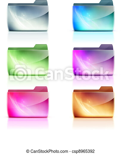 folder icons - csp8965392