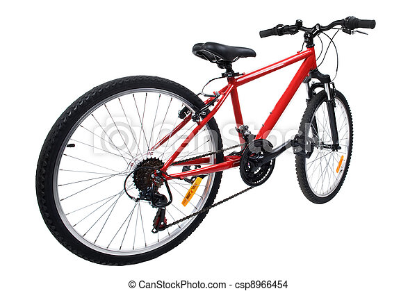 bicycle on white background - csp8966454