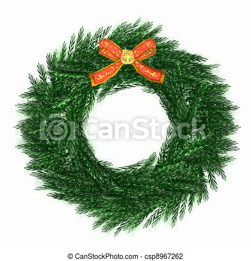 Wreath - csp8967262