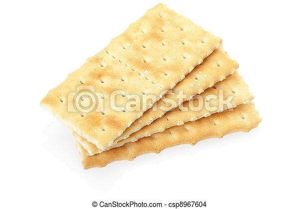 Crackers isolated - csp8967604