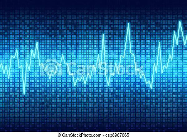 Digital graphic chart display - csp8967665