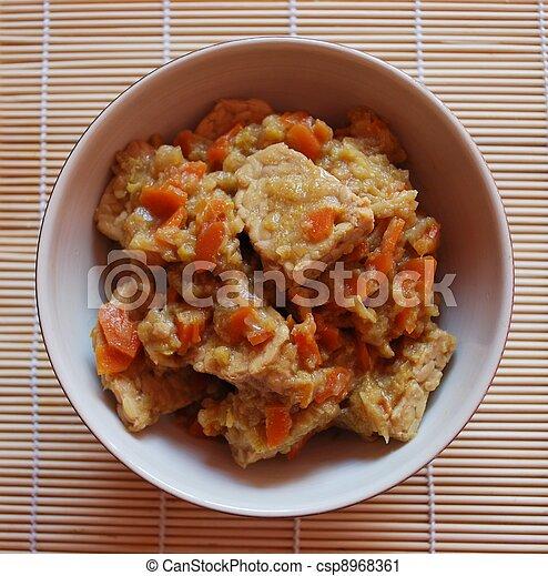 Stew tempeh - csp8968361