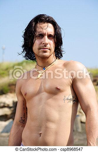 Foto de pelado modelo macho jovem italiano jovem - Fotografia desnudo masculino ...