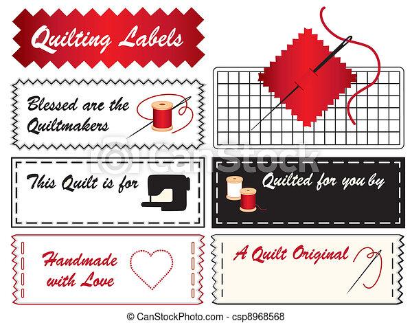 Quilting Labels - csp8968568
