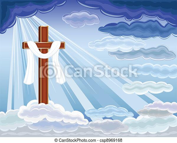 Resurrection of Jesus - csp8969168