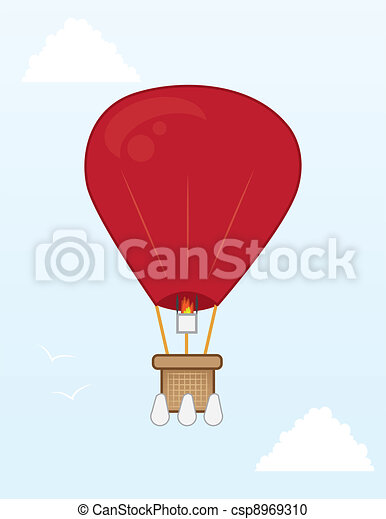 Hot Air Balloon  - csp8969310