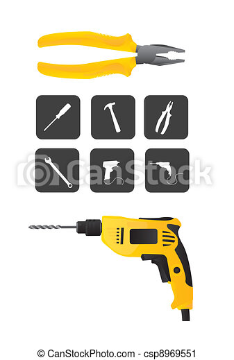 tools vector - csp8969551