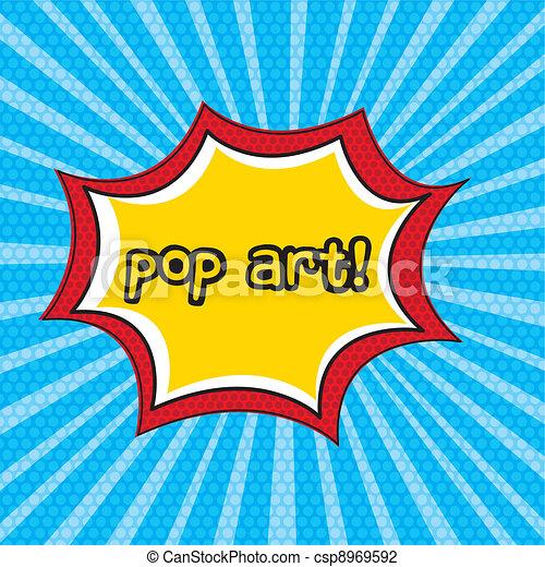 pop art - csp8969592