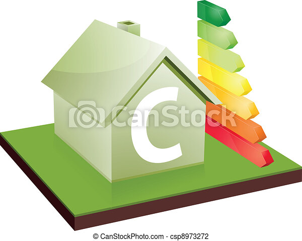 house energy efficiency class C - csp8973272