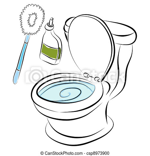 Toilet Bowl Cleaning Tools - csp8973900