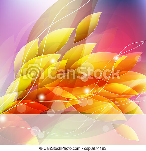 flower background for art projects - csp8974193