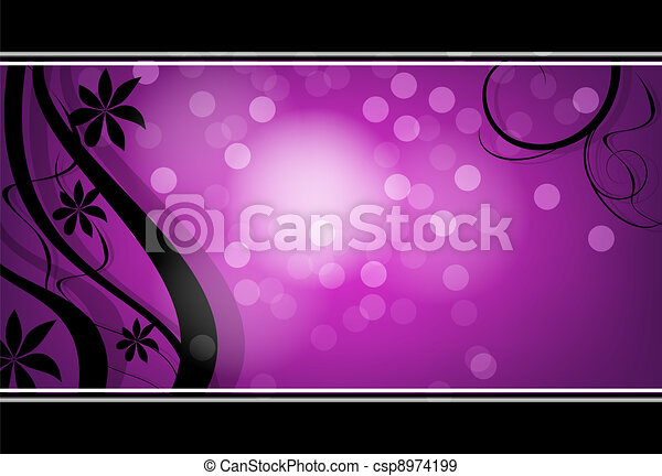 flower background for art projects - csp8974199