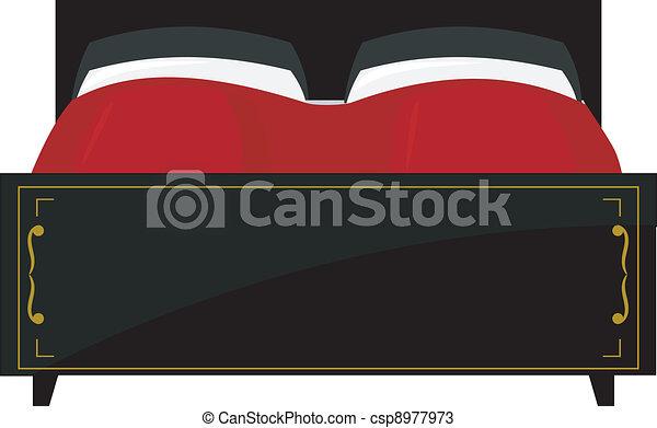 Double bed - csp8977973