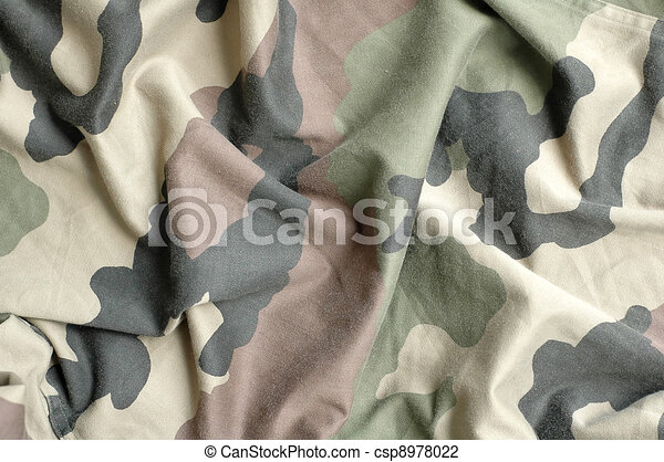 Military fabric pattern  - csp8978022