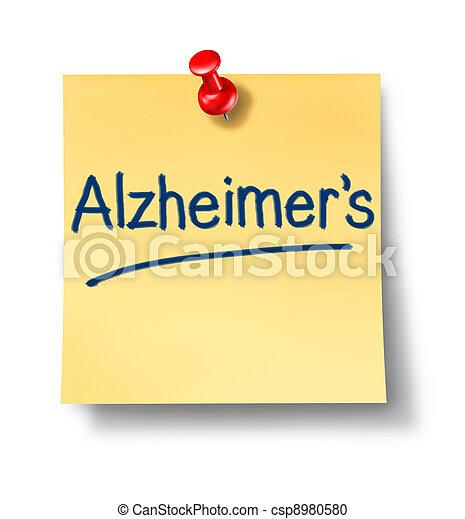 Alzheimer Reminder Office Note - csp8980580