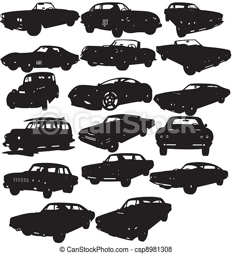Vector Of Cars Packages Illustration Of Cars Packages