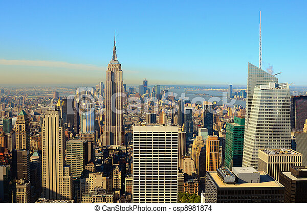 Landmarks in New York City - csp8981874