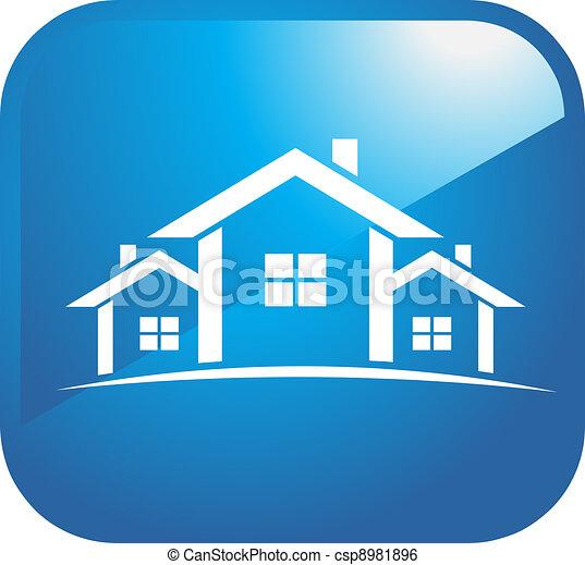 Houses icons - csp8981896