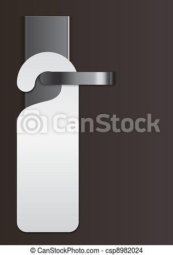 door handle with virgin label - csp8982024