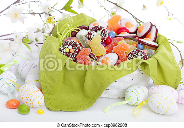 Easter sweets - csp8982208
