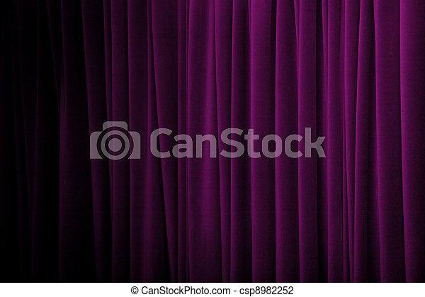 stock foto von lila vorhang lila vorh nge mit viele falten und csp8982252 suchen. Black Bedroom Furniture Sets. Home Design Ideas