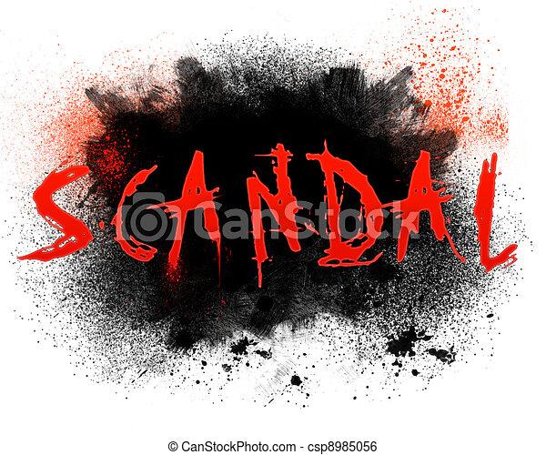 Scandal - csp8985056