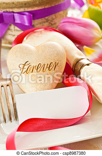 Forever Is A Commitment - csp8987380