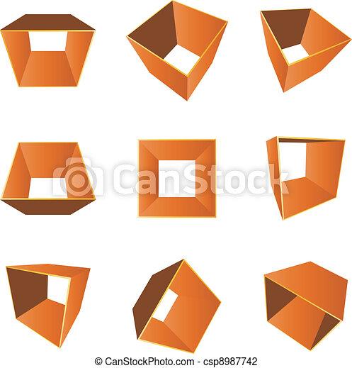 3d shape Clip Art Vector Graphics. 79,357 3d shape EPS clipart ...