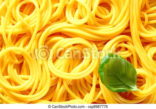 Spaghetti Texture Background - csp8987776