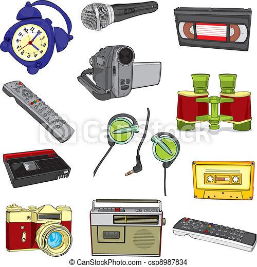 entertainment items - csp8987834
